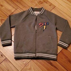 Cat & Jack Superhero Zip Front Sweatshirt, 5T